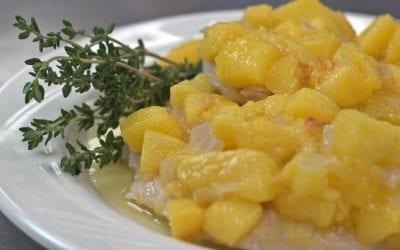 Palisade Peach Braised Chicken Recipe