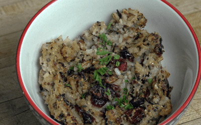 Wild Rice Quinoa Stuffing